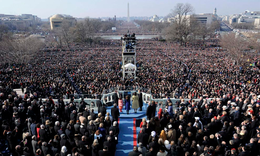 Inaugurations past and present