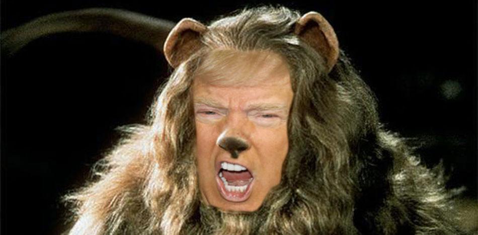 Our President is a dangerous coward