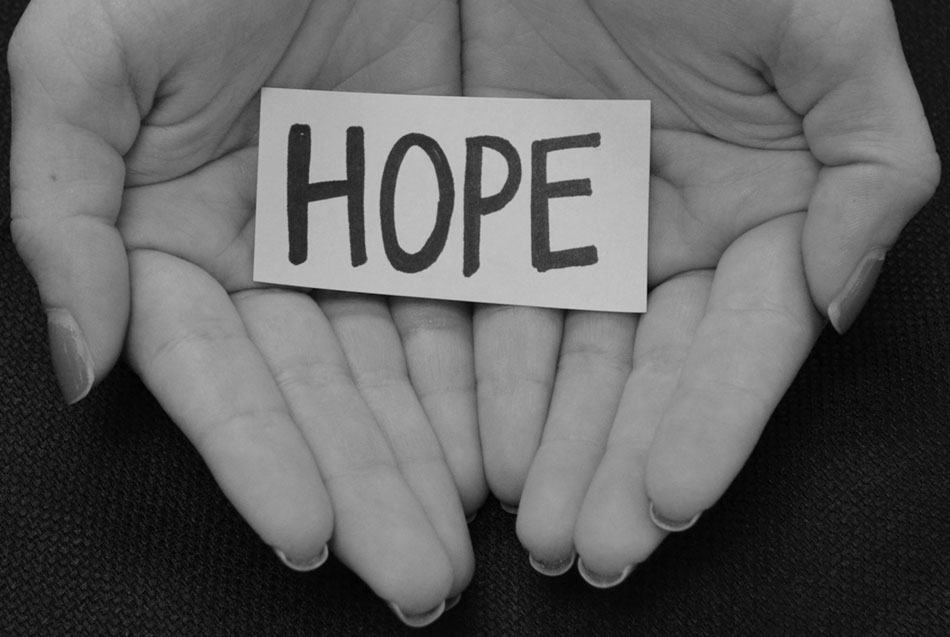 Clinging to chances for hope