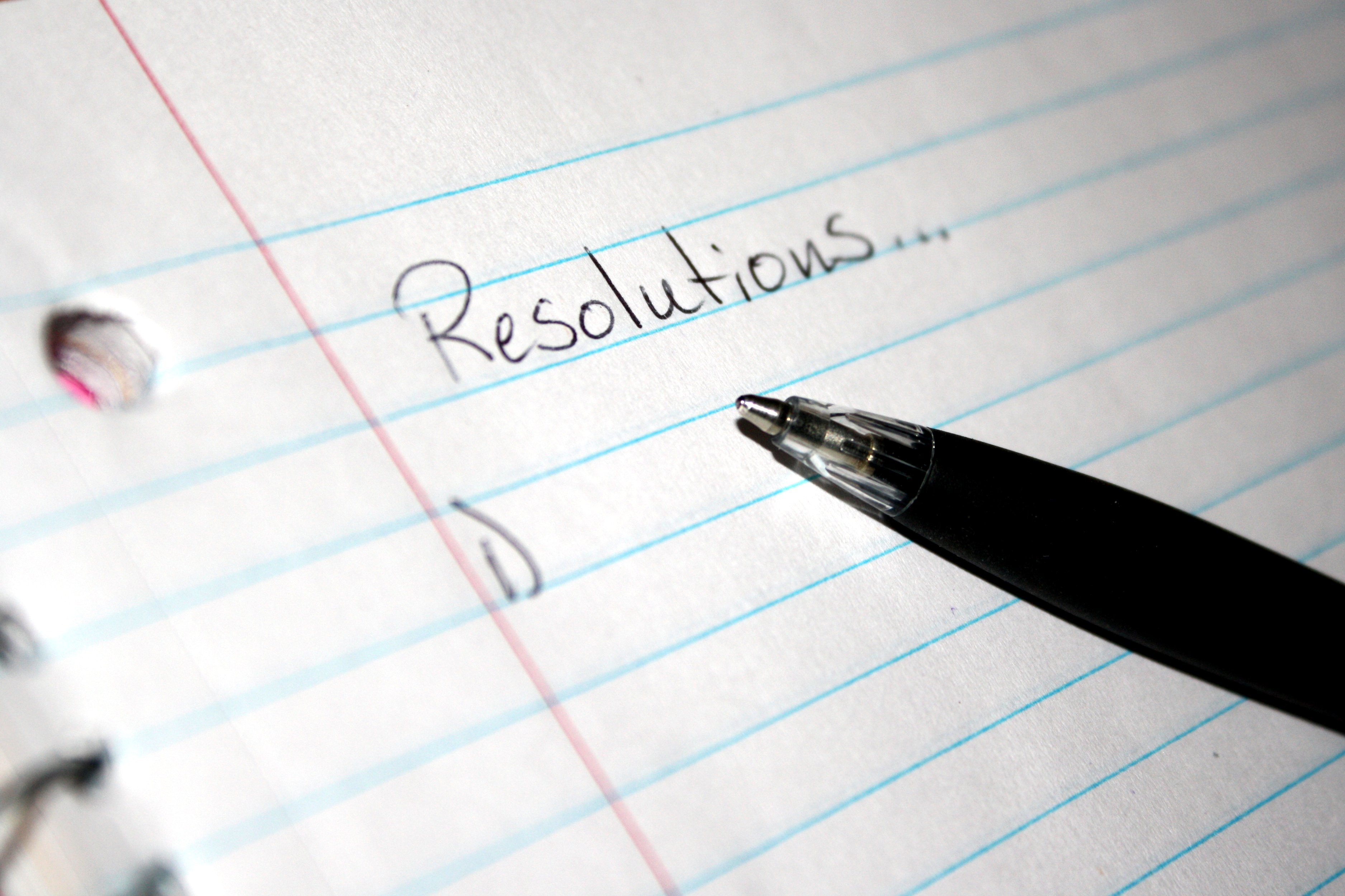 We don't need no stinking resolutions
