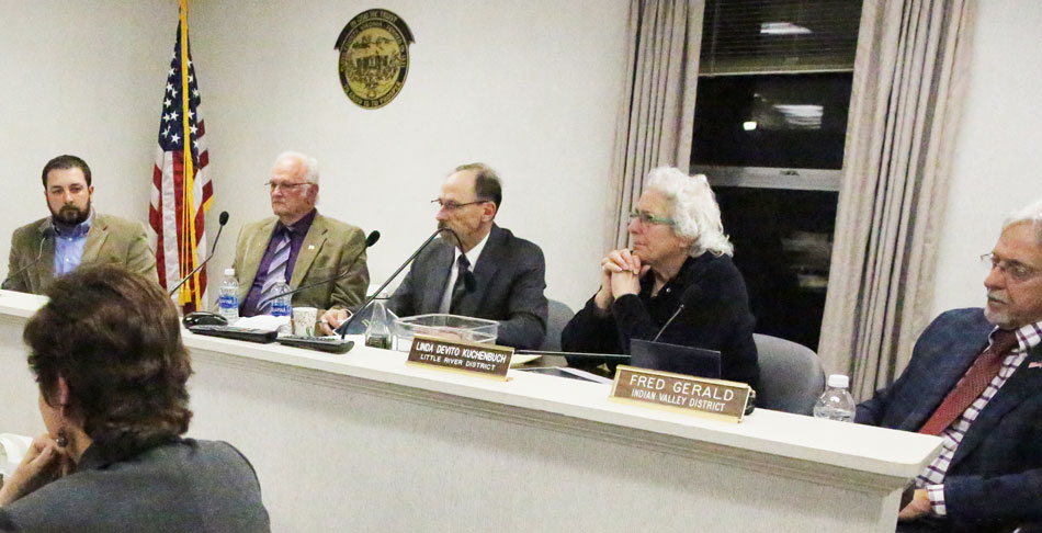 Public hearing on county budget