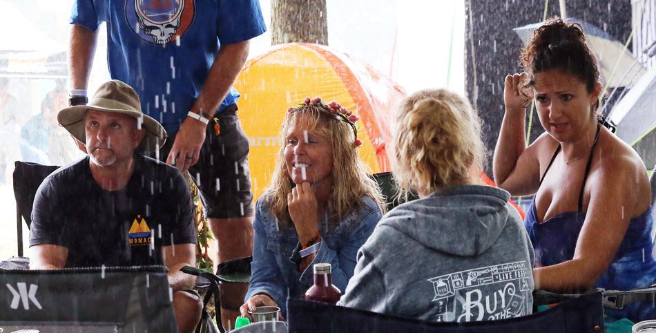 Rain drops in on FloydFest 2017