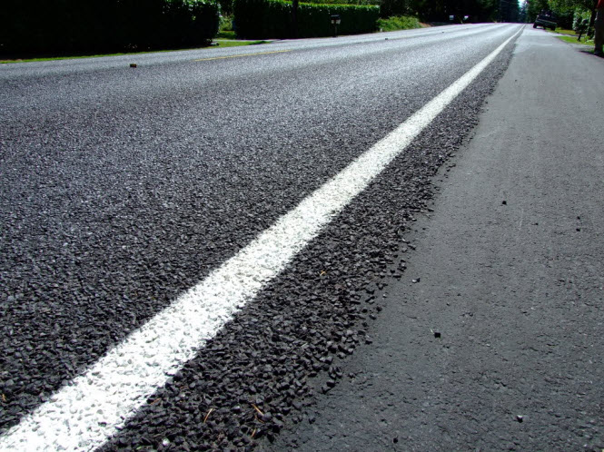 A Parkway paving mess